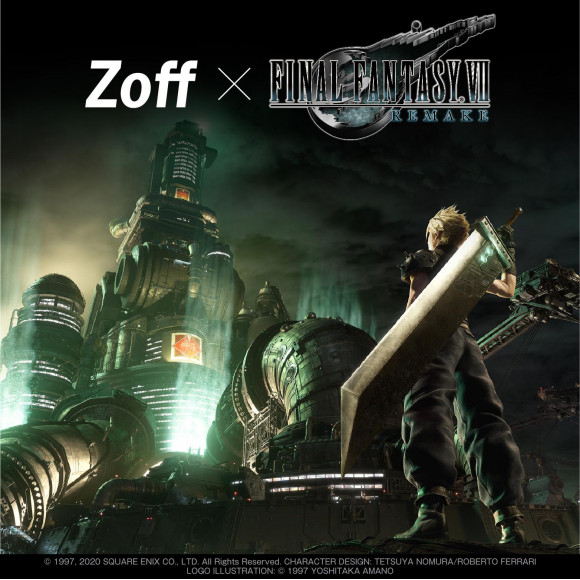 Zoff SMART FINAL FANTASY Ⅶ REMAKE Model新発売!