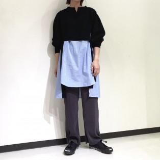 FURFUR / シャツドッキングセーター