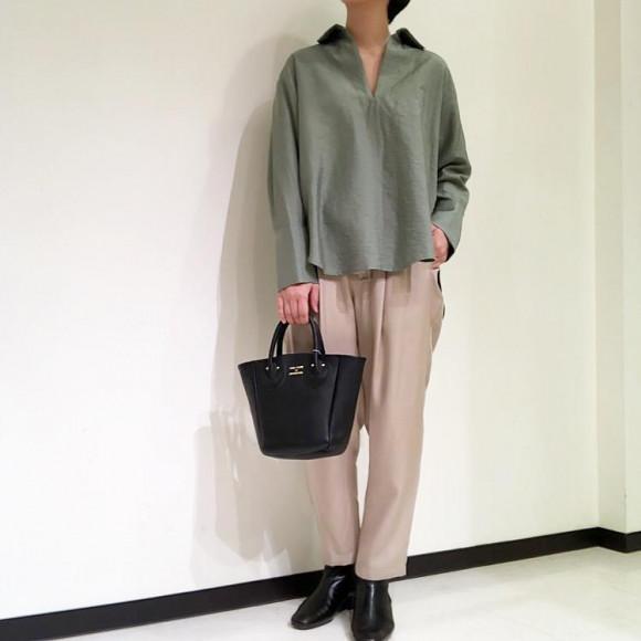 styling/ リネンシャツ