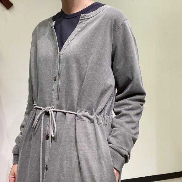 Allumer / Pigment Dyed Long Cardigan