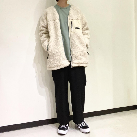 styling/ / FIRST DOWN boa blouson