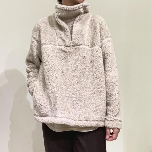 Allumer / Boa Fleece Half Zip Blouson