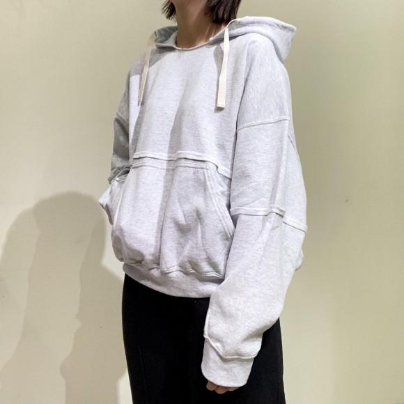 KHA:KI / piping remake hoodie