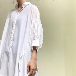 styling/ / タックスリーブシャツ
