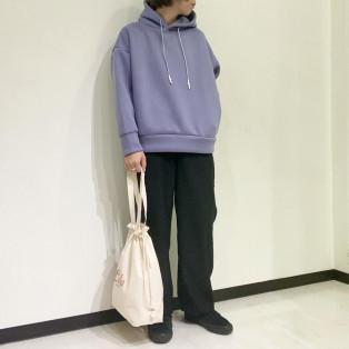 Allumer / Cardboad  Knit Pull Over Hoodie