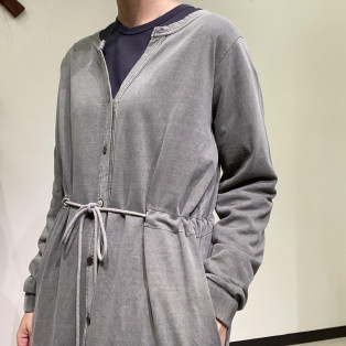 Allumer / Pigment Dyed Long Cardigan