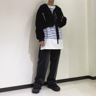 ETRE TOKYO / バスクボーダートップス