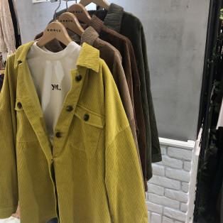 【新作商品】コーデュロイシャツ
