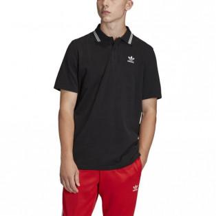 PIQUE POLO トレフォイル エッセンシャル ポロシャツ メンズファッション カットソー