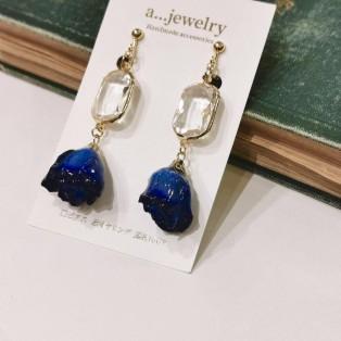 a...jewelry(エージュエリー) / 青バラのアクセサリー