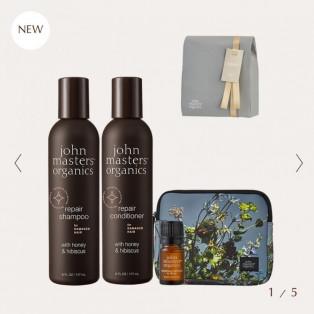 John masters organics ラグジュアリーヘアケアコフレ(ラッピング済み)