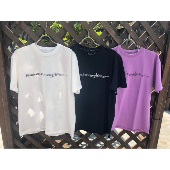 【Manhattan Portage】これからの季節に使える半袖Tシャツのご紹介!!