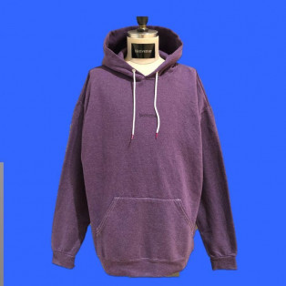 Over size sweat parka