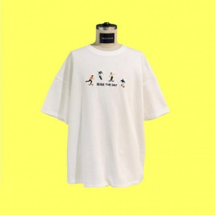 Embroidered S/S tshirt