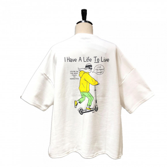 5 sleeve print t-shirts