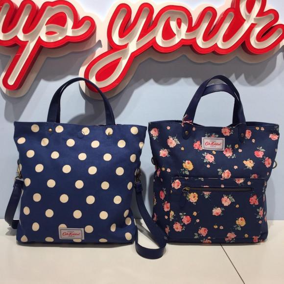 1つのバッグで何パターンも楽しめます♪