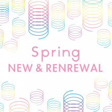 PARCO SPRING NEW&RENEWAL