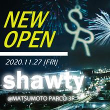 【期間限定@3F】『shawty』 全国初オープン!