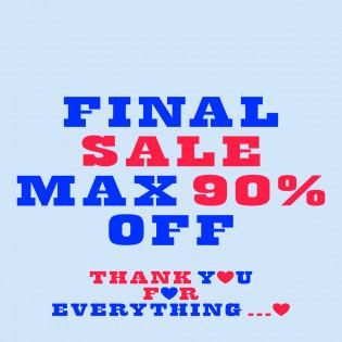 【MAX 90%OFF 】FINAL SALE VOL.1 〜おすすめアイテムをご紹介〜