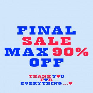 【MAX 90%OFF 】FINAL SALE VOL.1 〜おすすめアイテムをご紹介 Part 2〜