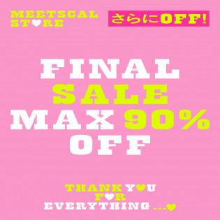 【MAX 90%OFF 】FINAL SALE VOL.2 〜魔女修行のおすすめアイテム〜