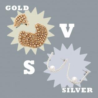 【小物集合】GOLD VS SILVER