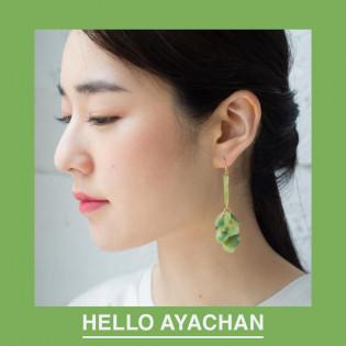 【カジュアルからお呼ばれまで】HELLO AYACHANのアクセサリー。