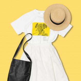 ロンドン・ナショナル・ギャラリー展×パルコのTシャツコーデ