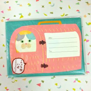 癒しのネコ文具♡レターセット入荷しました!