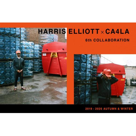 HARRIS ELLIOTT × CA4LA 6th COLLABORATION 2019-20AW