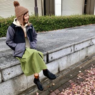 冬のギフトにおすすめ☆ シンプルな耳あて付きニット