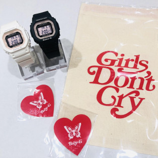 BABY-G新作   Girls Don't Cryスペシャルコラボキャンペーン