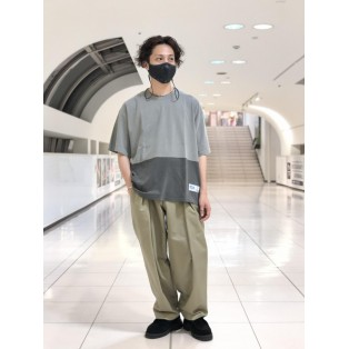 【GERRY COSBY/ジェリーコスビー】 2tone tube ss tee