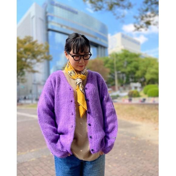 【MANASTASH/マナスタッシュ】フワフワニットカーディガン