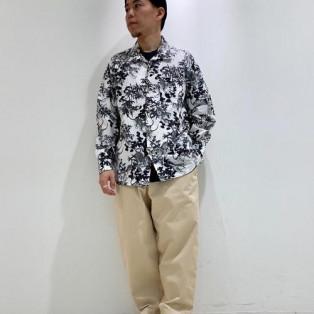 ちょい悪スタイルシャツのデザイ...