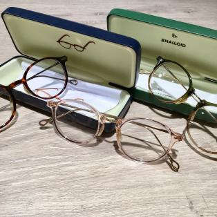 今日のメガネ 147 【ENALLOID】