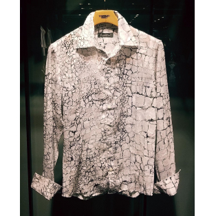 BIGクロコダイルプリントシャツ