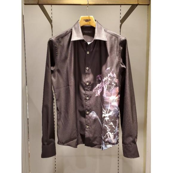 グリッチフラワープリントシャツのご紹介です!