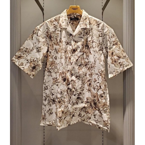 フラワープリントオープンカラーシャツのご紹介です!