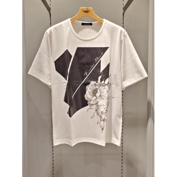 レザー風プリントTシャツのご紹介です!