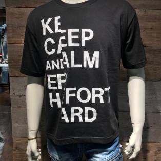 ブラックトーンロゴTシャツ