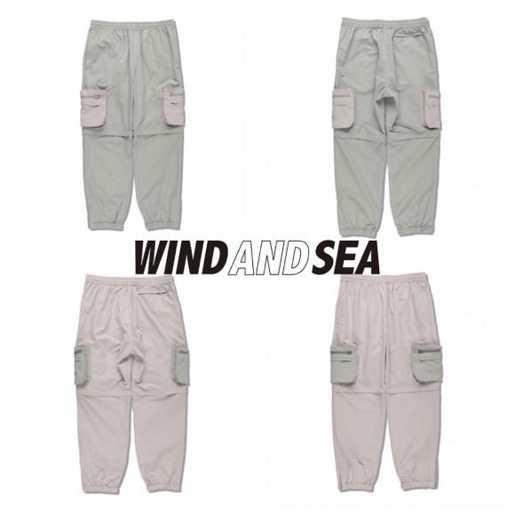 【WIND AND SEA/ウィンダンシー】本日発売