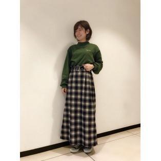 ○新作チェックスカート○