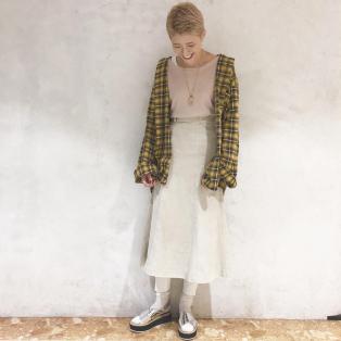 ☆秋注目!チェックシャツ☆