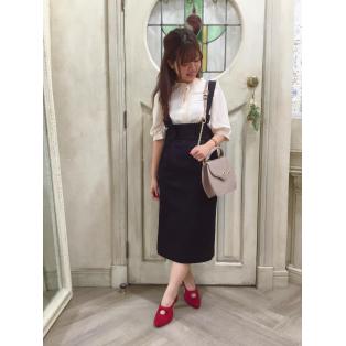 楽に着れて可愛い♡新作のレトロなスカート♪