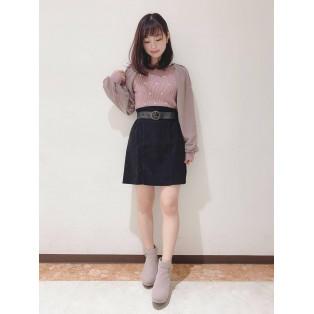 ♡刺繍ニット♡
