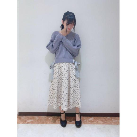 ♡花柄スカート♡