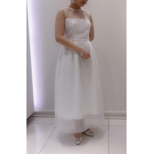 二次会用white dress