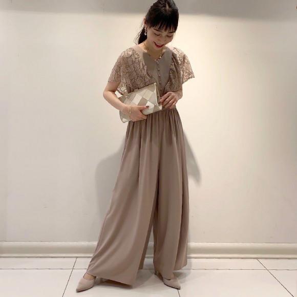 【新作パンツドレス】