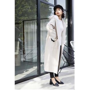 hoodie wool MIX long CT♡
